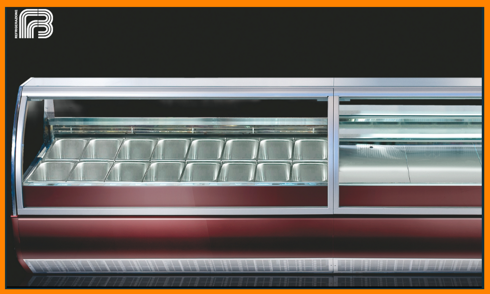 ​Proxima STX  Gelato & Pastry Display Cabinets by FB