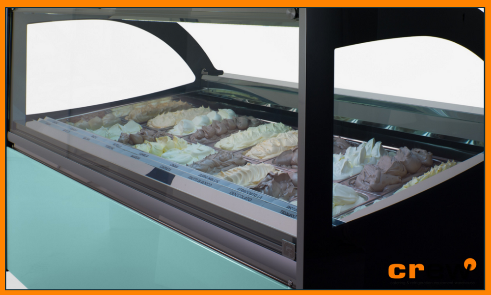 Diva Gelato & Pastry Display Cabinets by FB